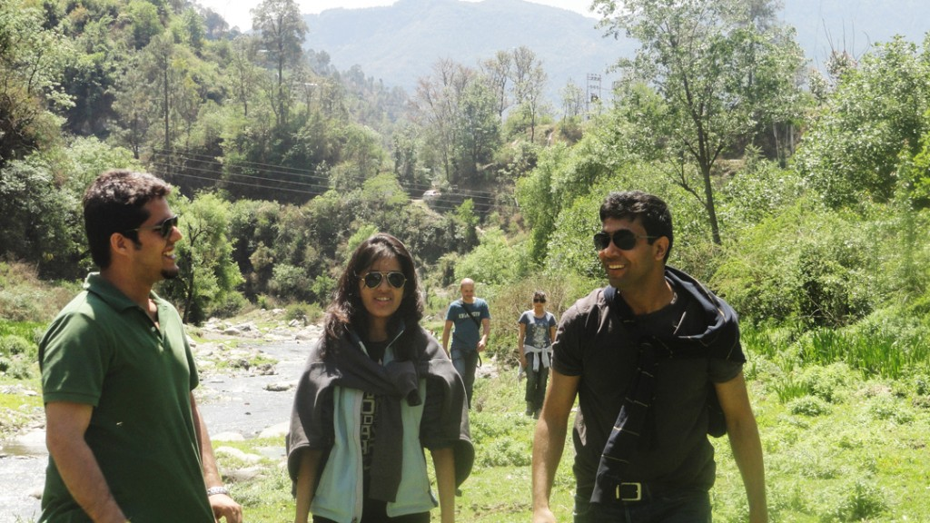 Cueblocks Team at Sadhu Pul