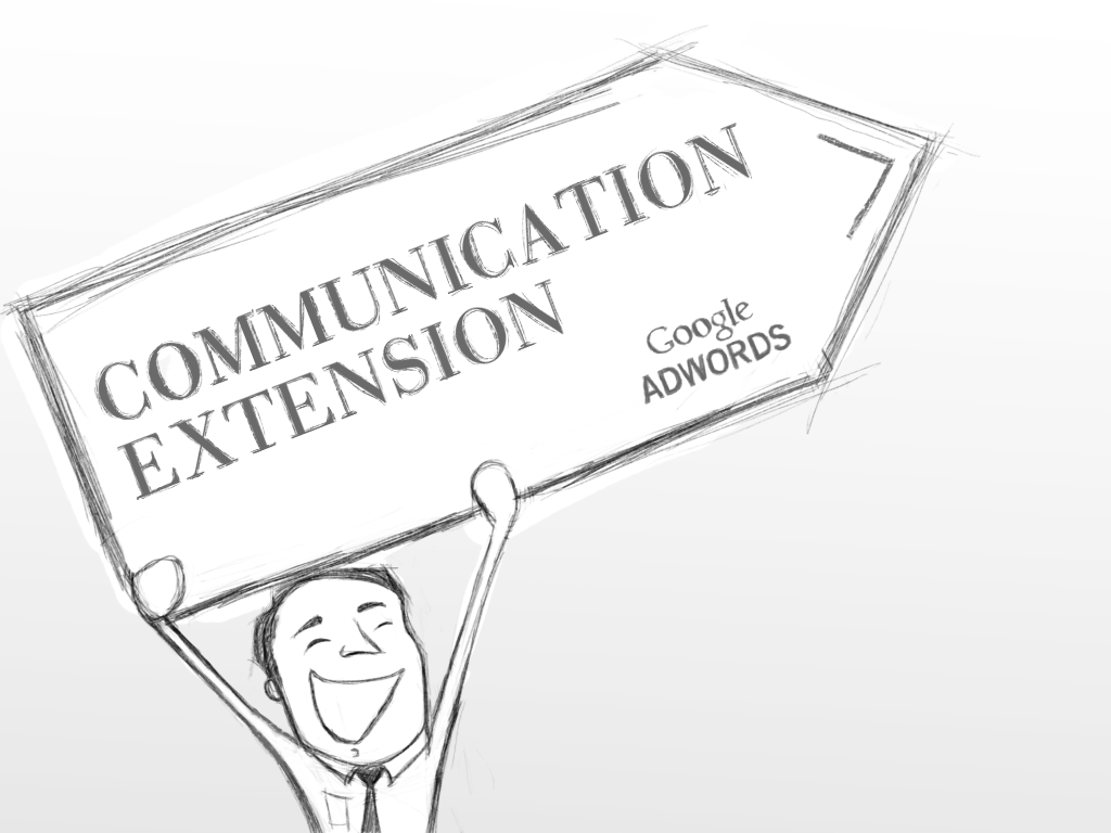 Communication Ad Extension - Adwords Beta latest Offering