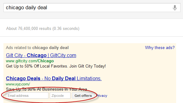 Communication Ad Extensions - Deals Version - AdWords Beta