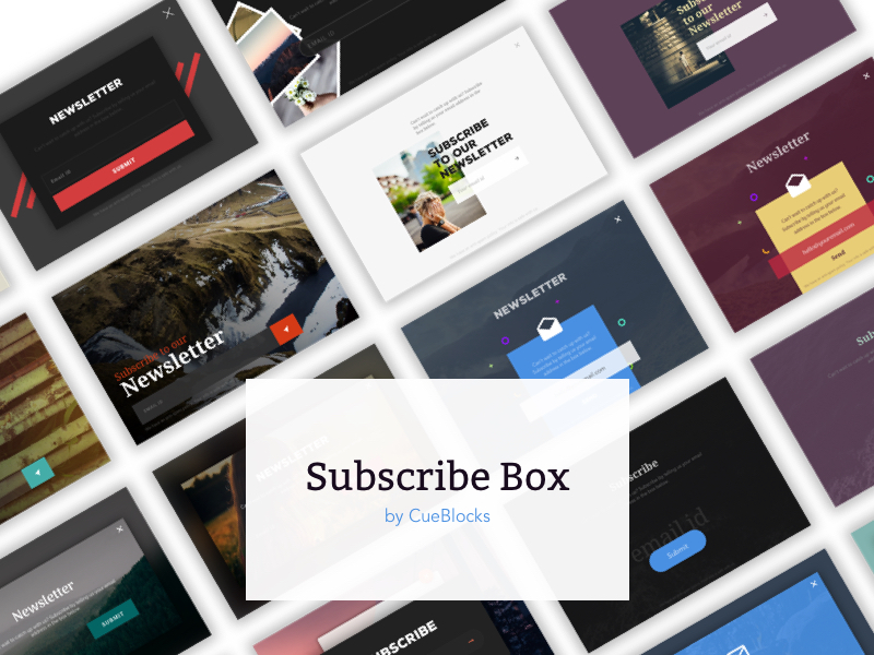 Free Newsletter UI Kits