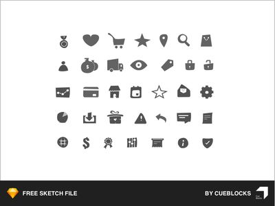 Free Icons for eCommerce Store